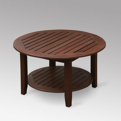 Sopra Wood Patio Coffee Table Cambridge Casual Target