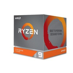 AMD Ryzen 9 3900X Unlocked Desktop Processor w/ Wraith Prism LED Cooler - 12 cores & 24 threads - 3.8 GHz- 4.6 GHz CPU Speed - 64MB L3 Cache