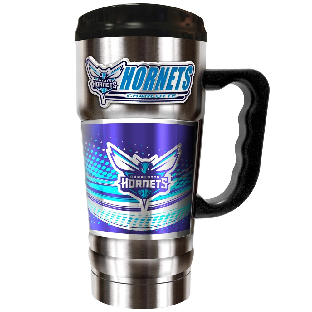 NBA Charlotte Hornets 20oz Champ Vacuum Insulated Stainless Steel Travel Tumbler