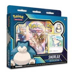 Pokemon Trading Card Game Snorlax Pin Collection