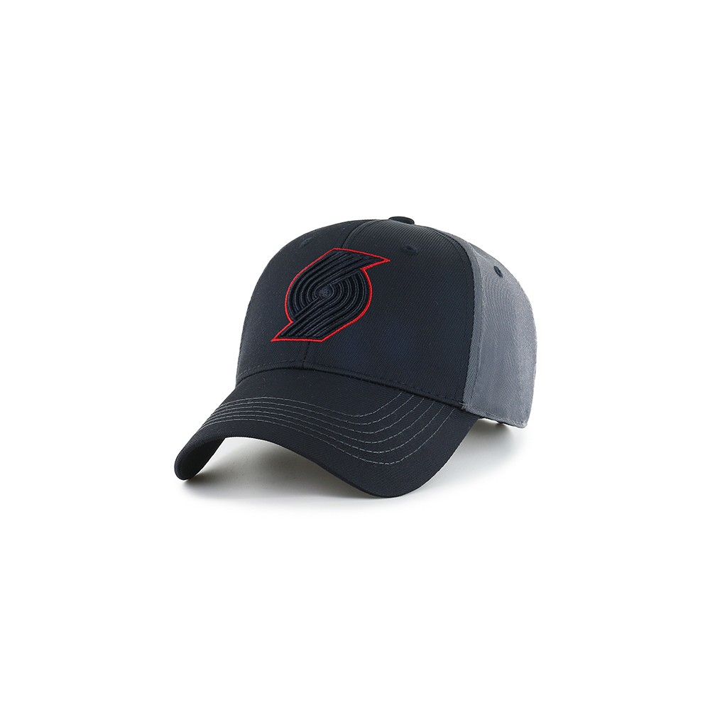 NBA Men's Portland Trail Blazers Blackball Hat