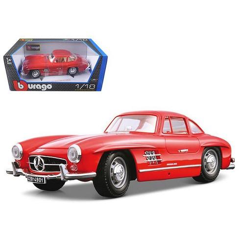 1954 Mercedes Benz 300sl Gullwing Red 1 18 Diecast Target