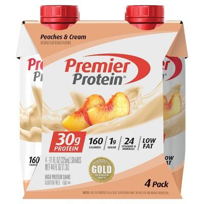 Premier Protein Shake - Peaches 'n Cream - 11 fl oz/4pk