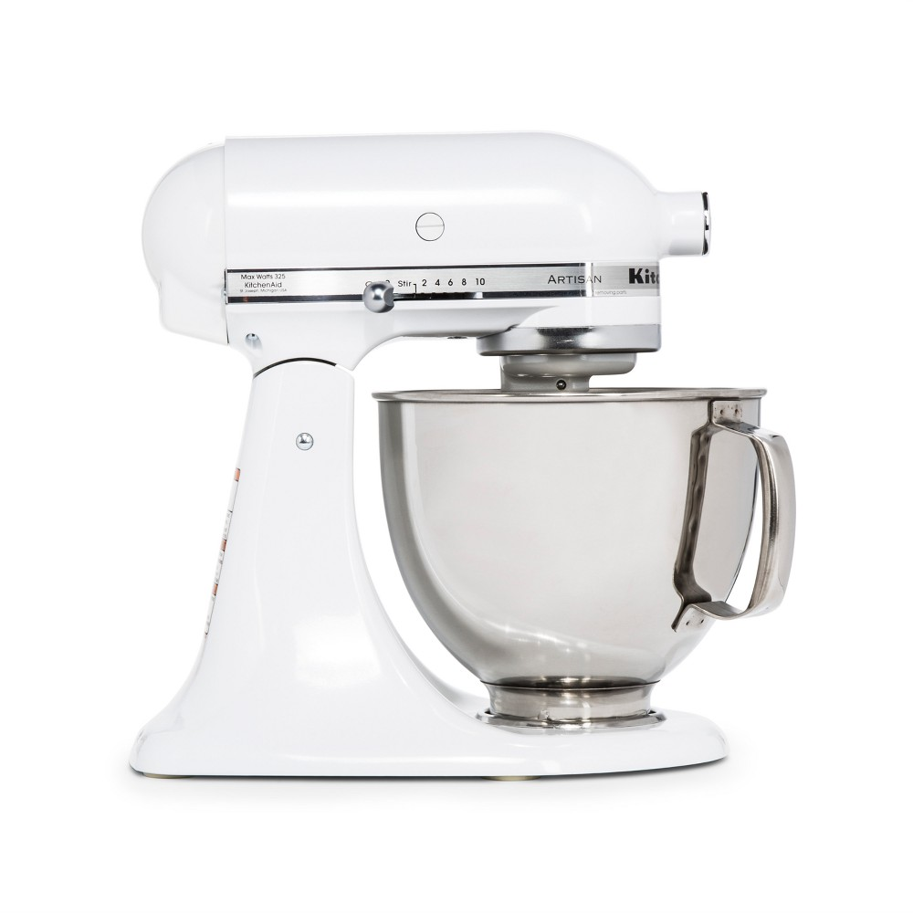 KitchenAid Refurbished Artisan Series Stand Mixer – Pearl White RRK150FP 53570911