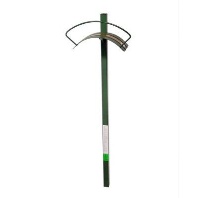 Yard Butler Heavy Duty Steel Free Standing Outdoor Garden Hose Hanger Holder