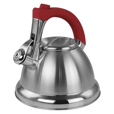 Mr. Coffee 1.8 quart Stainless Steel Whistling Tea Kettle
