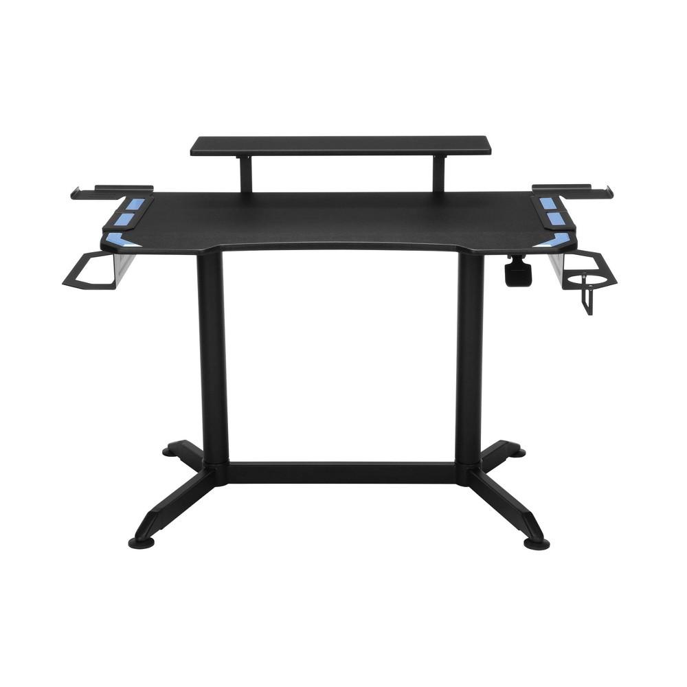3010 Ergonomic Height Adjustable Gaming Computer Desk Blue - RESPAWN