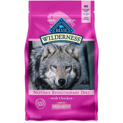 Blue Buffalo Wilderness Grain Free with Chicken Small Breed Adult Dry Dog Food