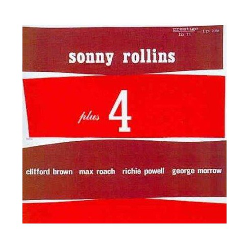 Sonny Rollins - Plus Four (CD) - image 1 of 1