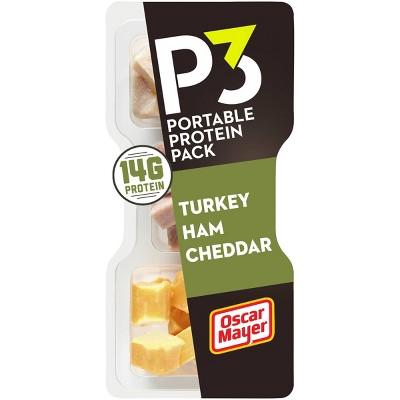 Oscar Mayer P3 Turkey Ham Mild Cheddar - 2.3oz