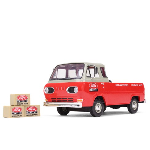 1960s Ford Econoline Pickup Red With Boxes Ford Tractor Parts