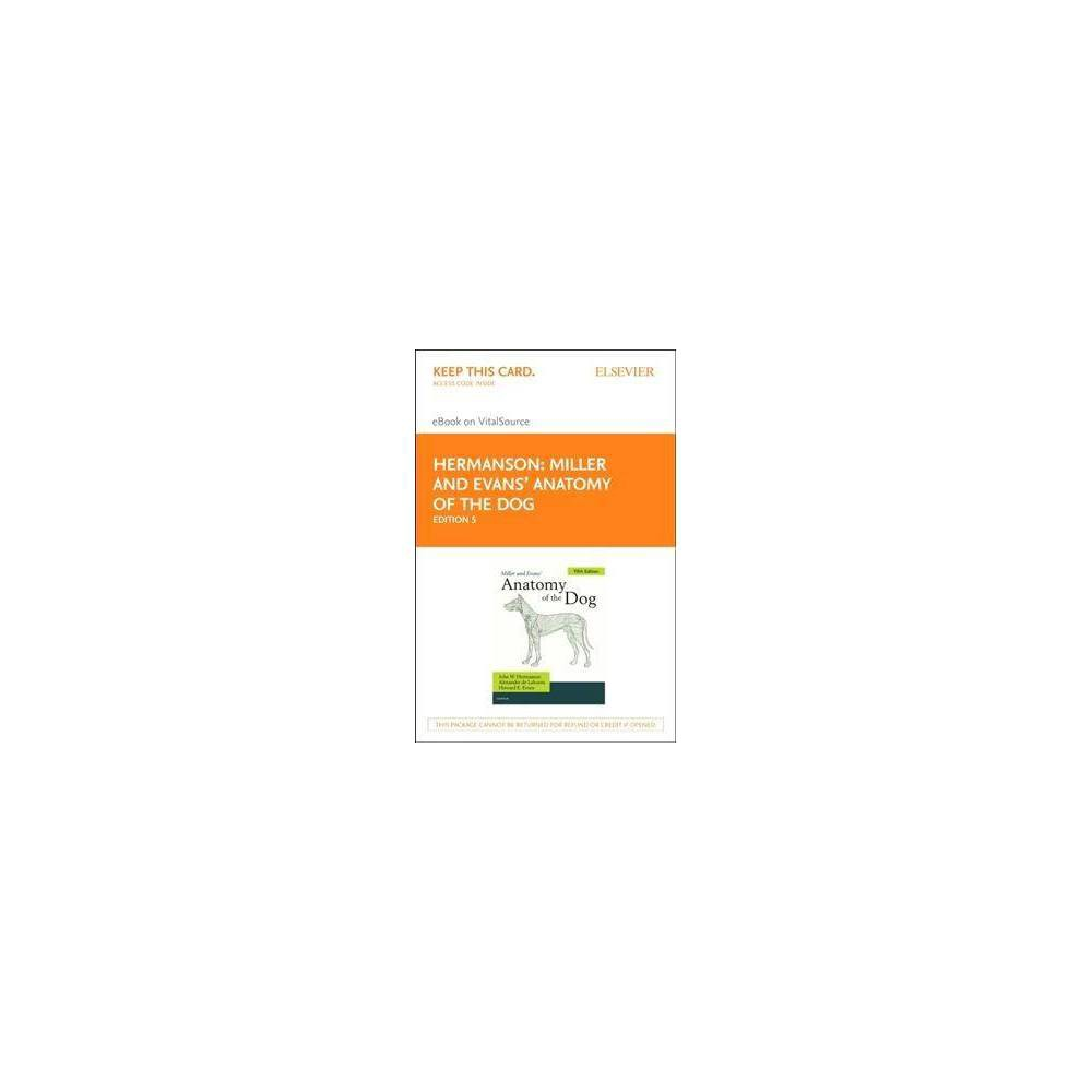 Miller and Evans' Anatomy of the Dog - Elsevier Ebook on Vitalsource Retail Access Card - 5 Psc
