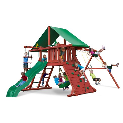Gorilla Playsets Sun Valley I Swing Set - image 1 of 3