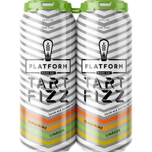 Platform Tart Fizz Sour Ale Beer - 4pk/16 fl oz Cans - image 1 of 1