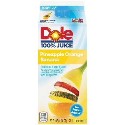 Dole Pineapple Orange Banana Juice - 59 fl oz