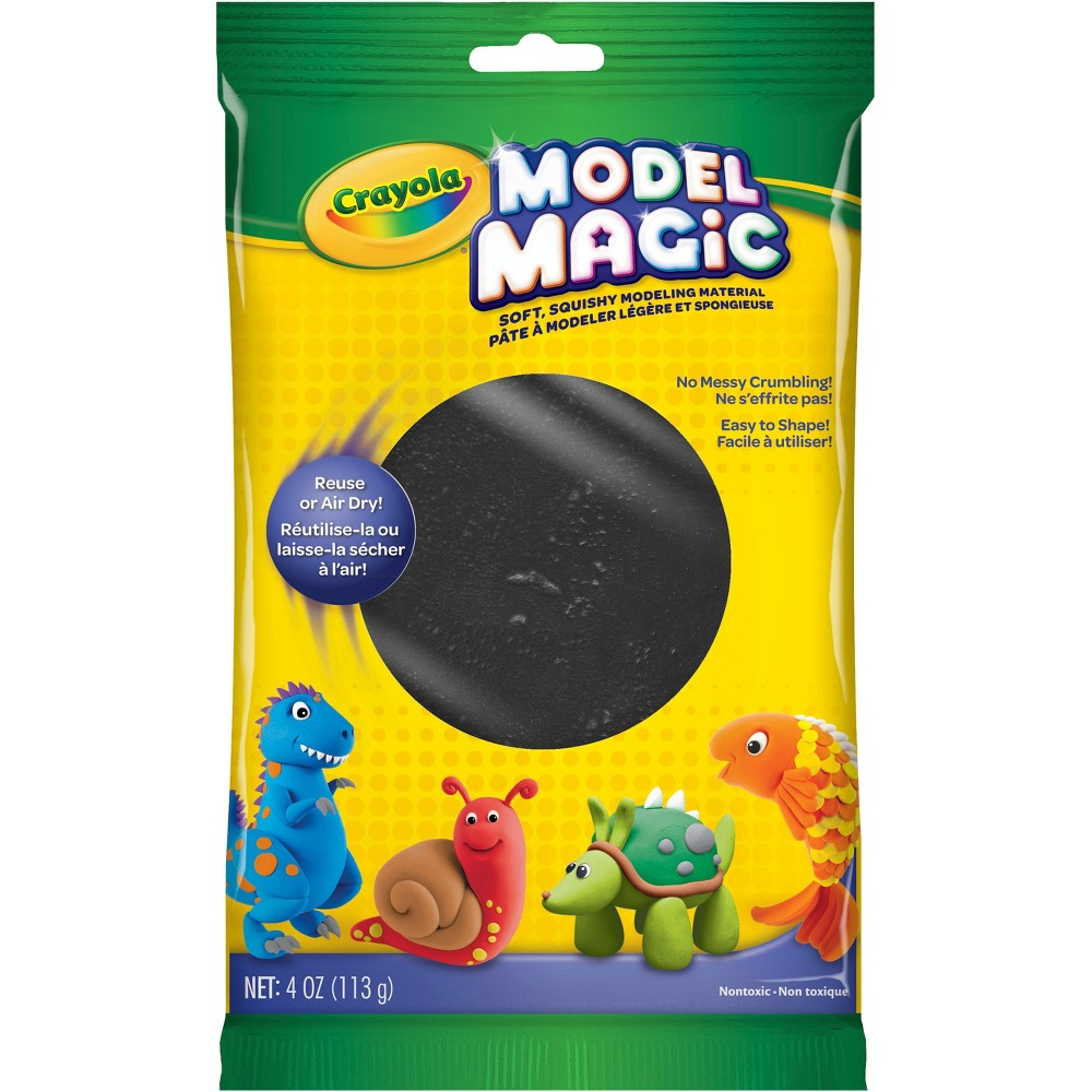 Image of 4oz Crayola Model Magic Clay - Black