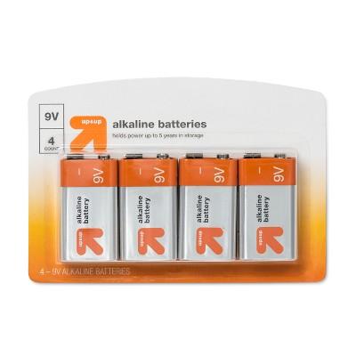 9V Batteries - 4ct - up & up™