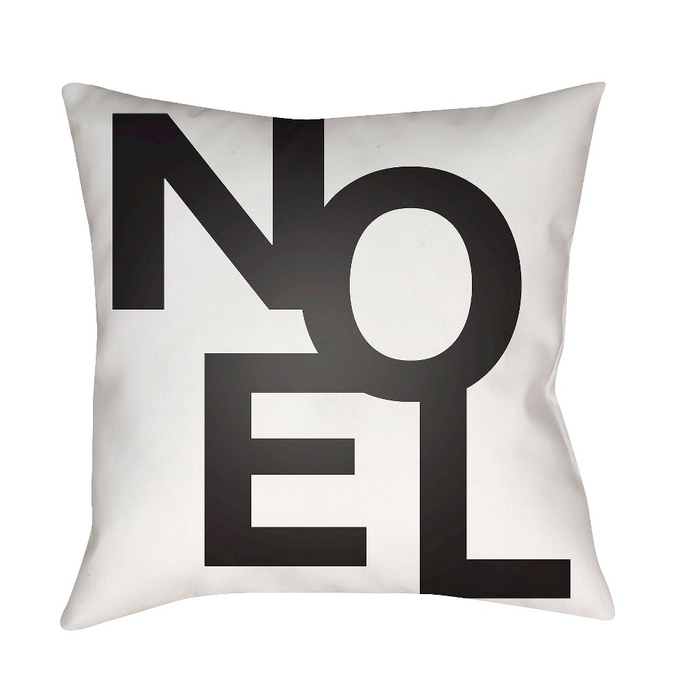 White First Noel Throw Pillow 16