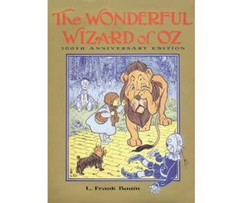 Wonderful Wizard of Oz (Anniversary) (Hardcover) (L. Frank Baum) - image 1 of 1