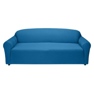 Jersey Sofa Slipcover Cobalt - Madison Industries