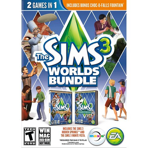 The Sims 3: Worlds Bundle - PC Game (Digital) - image 1 of 3
