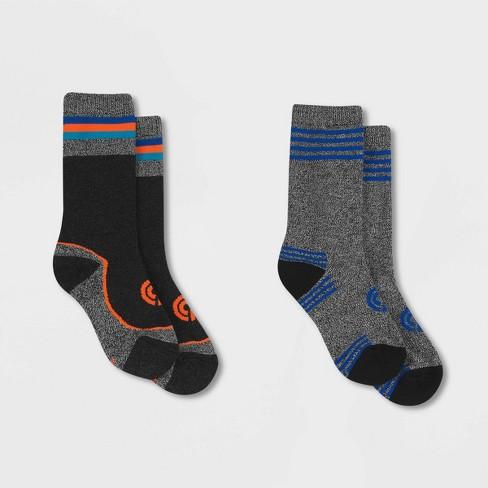 Boys' Warmer 2pk Casual socks - C9 Champion® - image 1 of 4