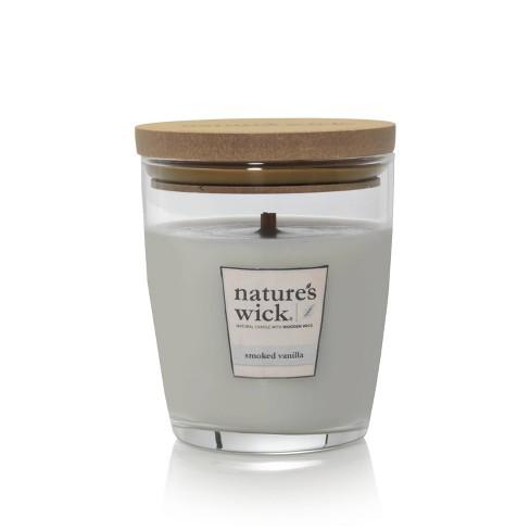 10oz Glass Jar Candle Smoked Vanilla - Nature's Wick - image 1 of 1