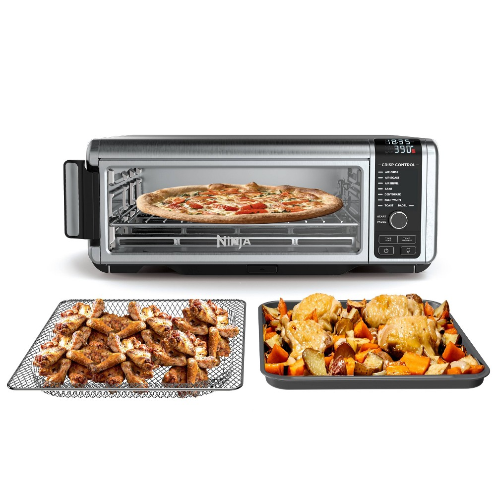 Image of The Ninja Foodi Digital Air Fry Oven with Convection, Flip-Up and Away to Store SP101