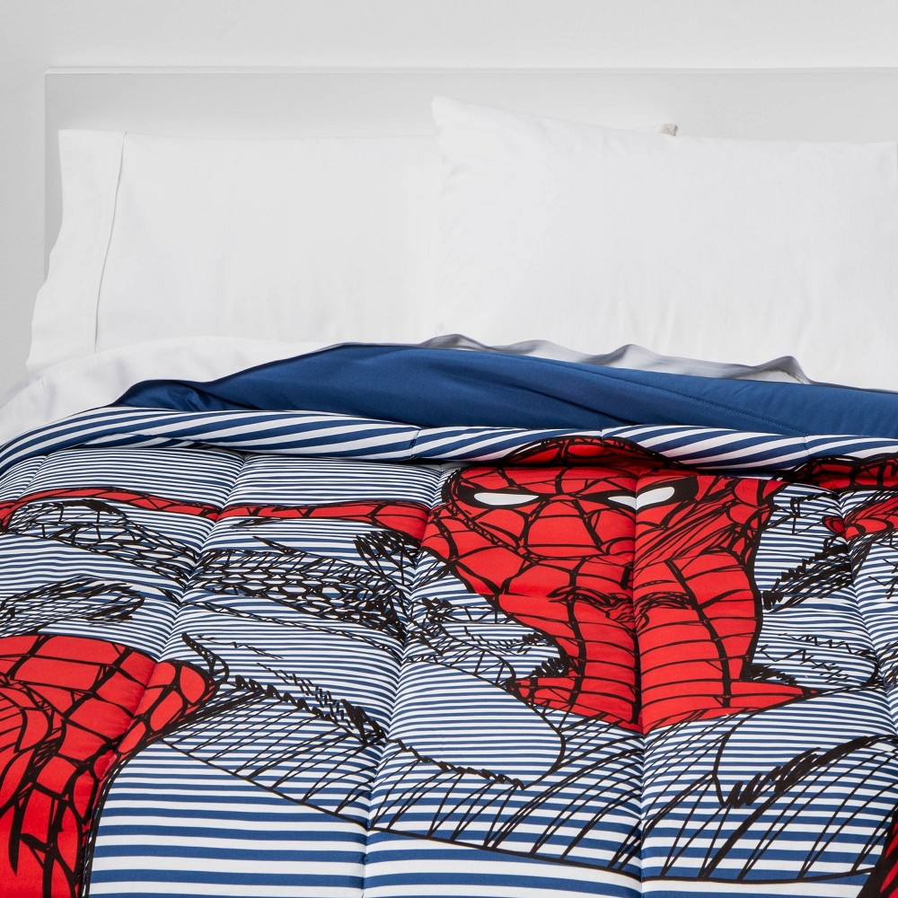 Image of Marvel Spider-Man Full Comforter Inline Red/Blue