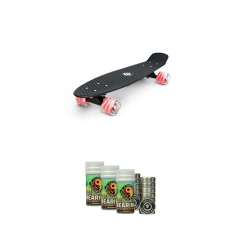 Fathom by Shark Wheel Skateboard w/ Shiver by Shark Wheel Bearings Package - image 1 of 4