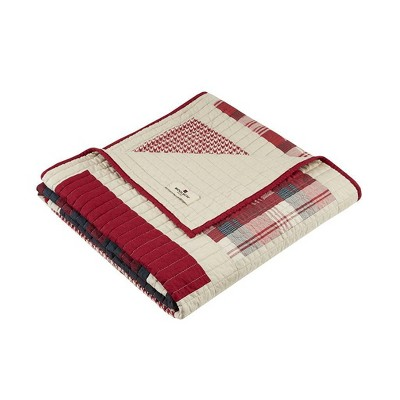 "50""x70"" Huntington Quilted Throw Red - Woolrich"