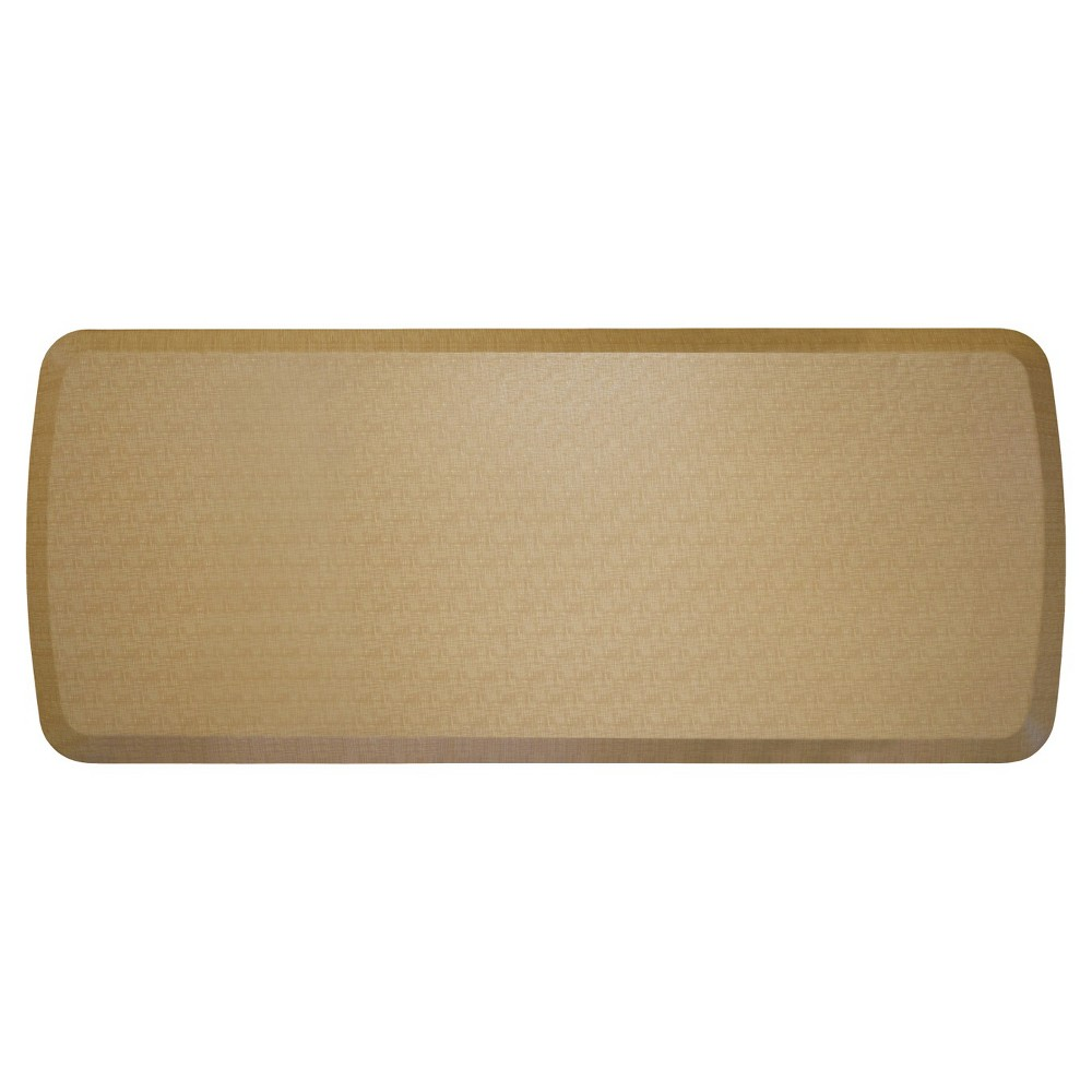 "Image of ""Gelpro Elite Linen Comfort Kitchen Mat - Khaki (Green) (20""""X48"""")"""