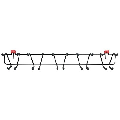 Rubbermaid 34 Inch Heavy Duty Garden Tool and Sports Storage Rack for Sheds