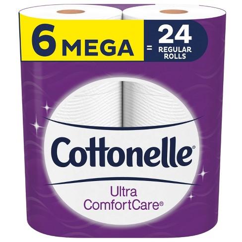 Cottonelle Ultra ComfortCare Soft Toilet Paper - Mega Rolls, Bath Tissue - image 1 of 4