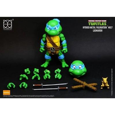 Herocross Company Limited Teenage Mutant Ninja Turtles Hybrid Metal Figuration Action Figure | Leonardo