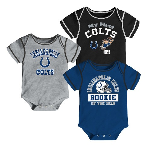 NFL Indianapolis Colts Boys  Newest Fan 3pk Bodysui   Target 95d7ef064