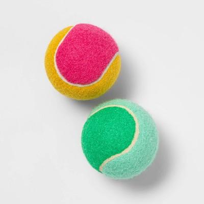 "Colorblock Tennis Ball Dog Toy - 2.5"" - 2pk - Sun Squad™"