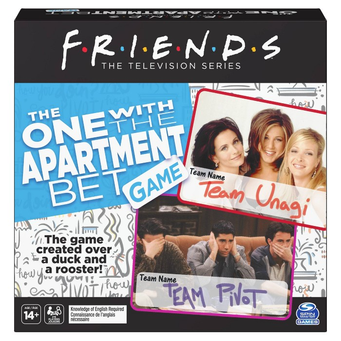 Spin Master Games Friends - The One With The Apartment Game : Target