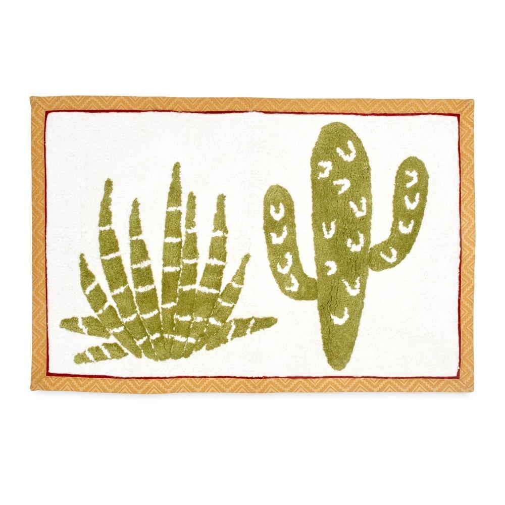 Image of Cactus Bath Rug Olive - Destinations