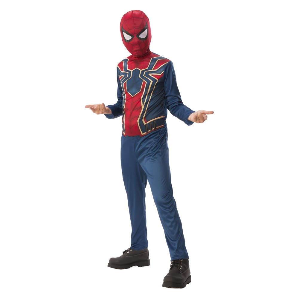 Boys' Spider-Man Avengers Basic Halloween Costume L, Multicolored