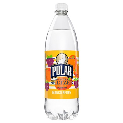 Polar Seltzer Mango Berry - 1 L Bottle - image 1 of 1