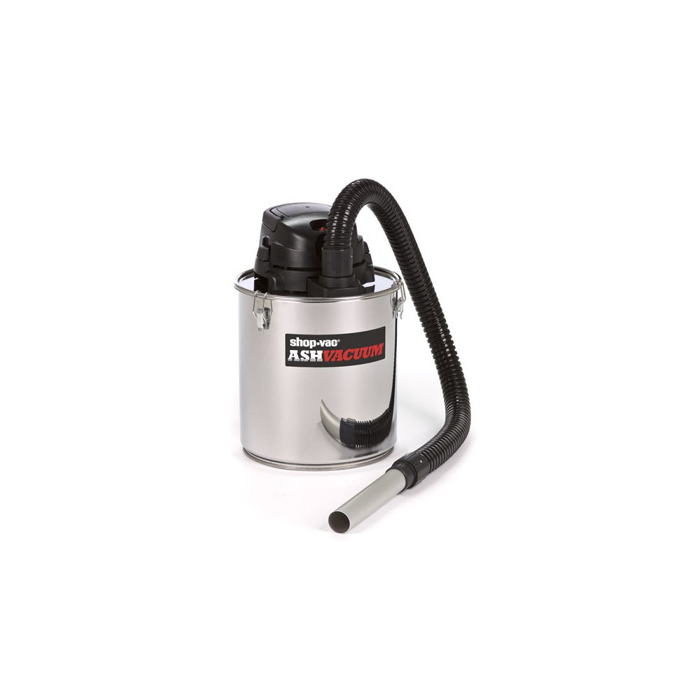 Image of Shop-Vac Ash Vacuum With Pellet Stove Kit - Stainless Steel