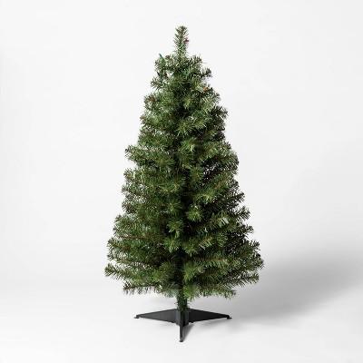 3ft Pre-Lit Alberta Spruce Artificial Christmas Tree Multicolor Lights - Wondershop™