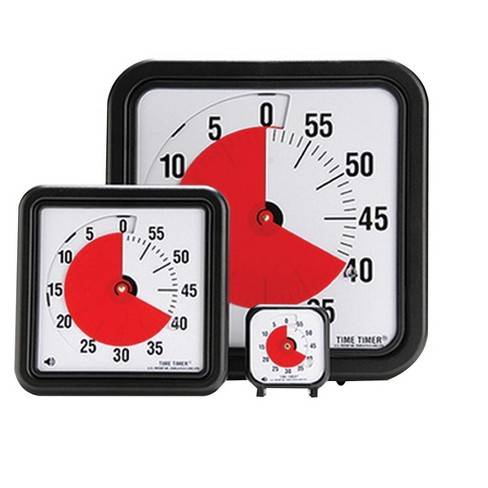 Time Timer Audible Countdown Timer, 3 Inches, Black - image 1 of 1