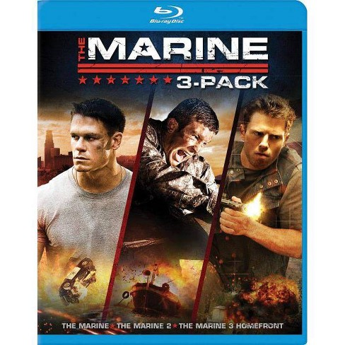 The Marine / The Marine 2 / The Marine 3: Homefront (Blu-ray) - image 1 of 1