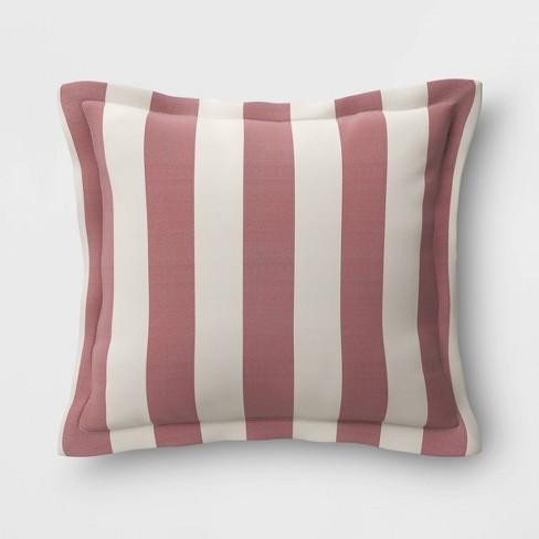 Cabana Stripe Outdoor Deep Seat Pillow Back Cushion DuraSeason Fabric™ - Threshold™ - image 1 of 1