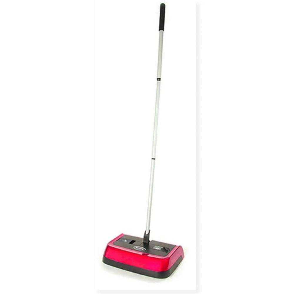 Image of Ewbank Evolution Adjustable Floor & Carpet Sweeper - Red
