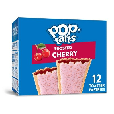 Kellogg's Pop-Tarts Frosted Cherry Pastries - 12ct/20.31oz