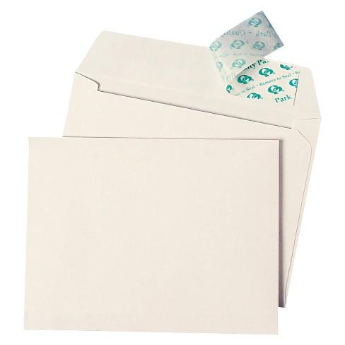 Quality Park Greeting Cardinvitation Envelope Redi Strip A4 50ct