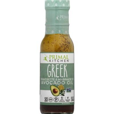 Primal Kitchen Greek Vinaigrette with Avocado Oil  - 8 fl oz